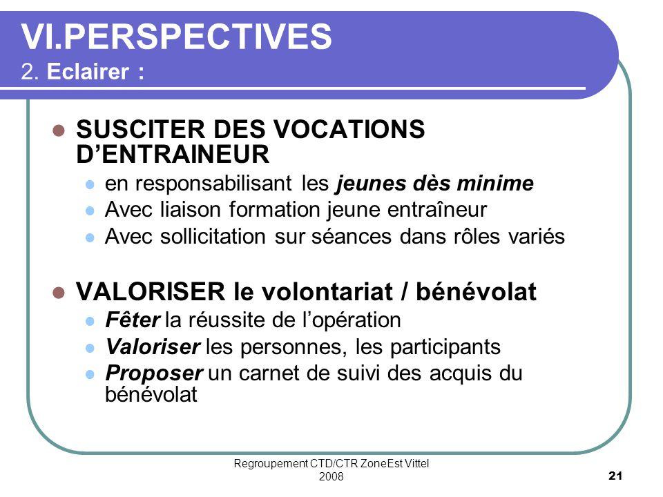 Regroupement CTD/CTR ZoneEst Vittel 200821 VI.PERSPECTIVES 2.