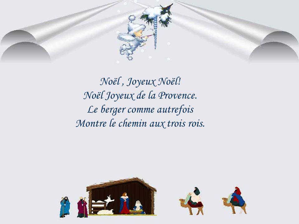 Noël, Joyeux Noël.Noël Joyeux de la Provence.