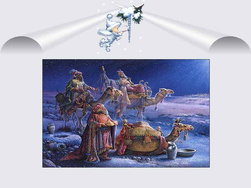 Noël, Joyeux Noël! Noël Joyeux de la Provence. Le berger comme autrefois Montre le chemin aux trois rois.
