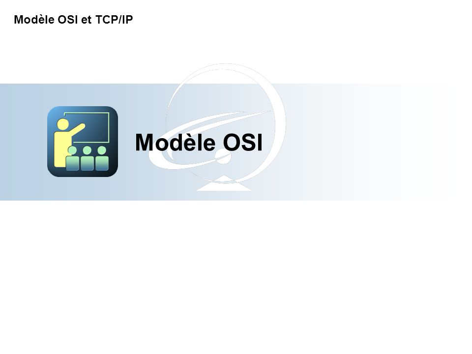 Pause-Réflexion sur la partie 2 Modèle TCP/IP Quelles sont les 4 couches du modèle TCP/IP .