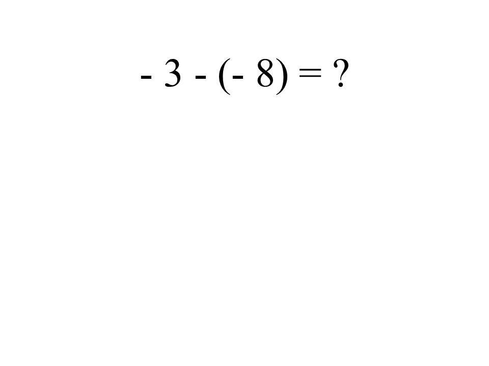 6 - (+ 2) =