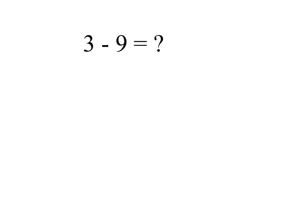-5 + 8 =