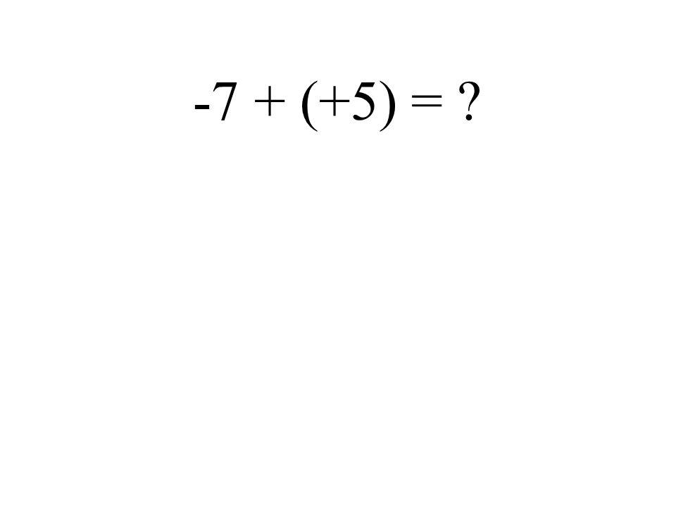 - 2 + 1 =