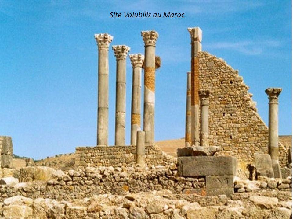 Amphithéâtre de Dougga en Tunisie