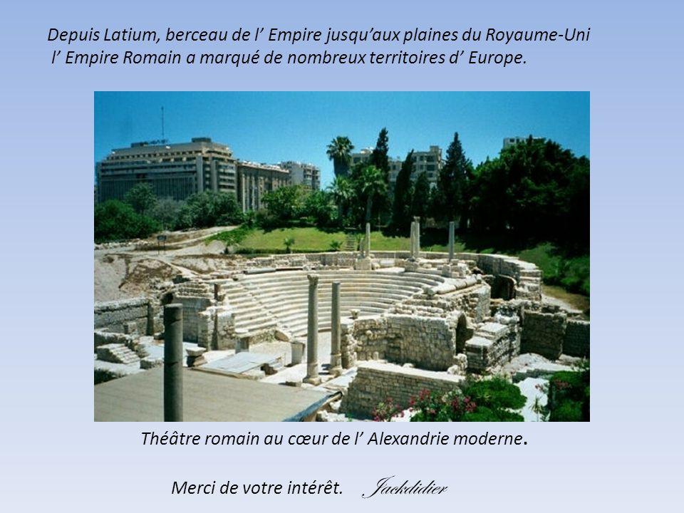 Ruines de Timgad en Algérie