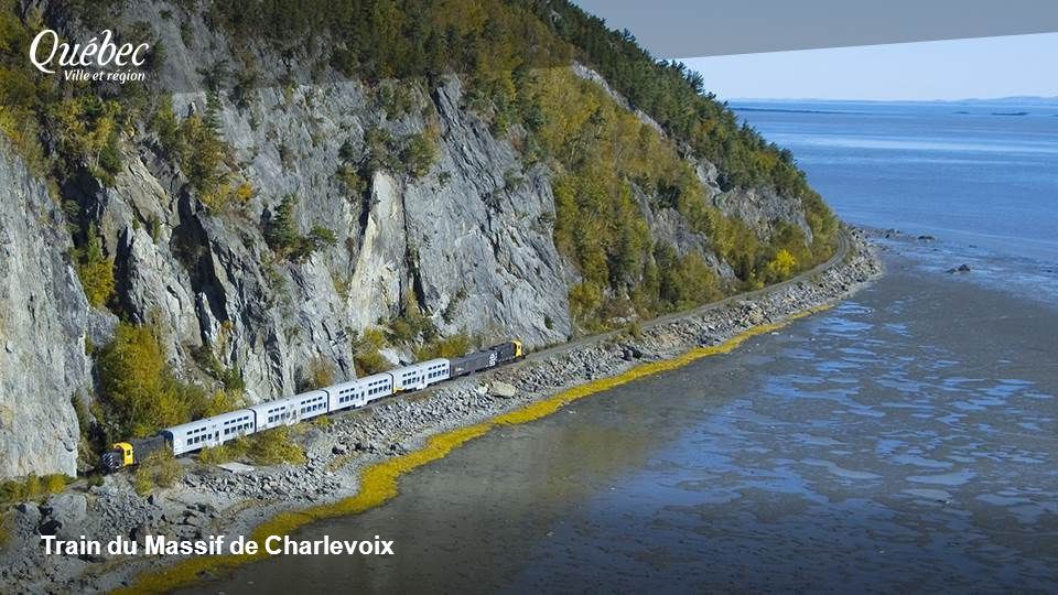 Train du Massif de Charlevoix