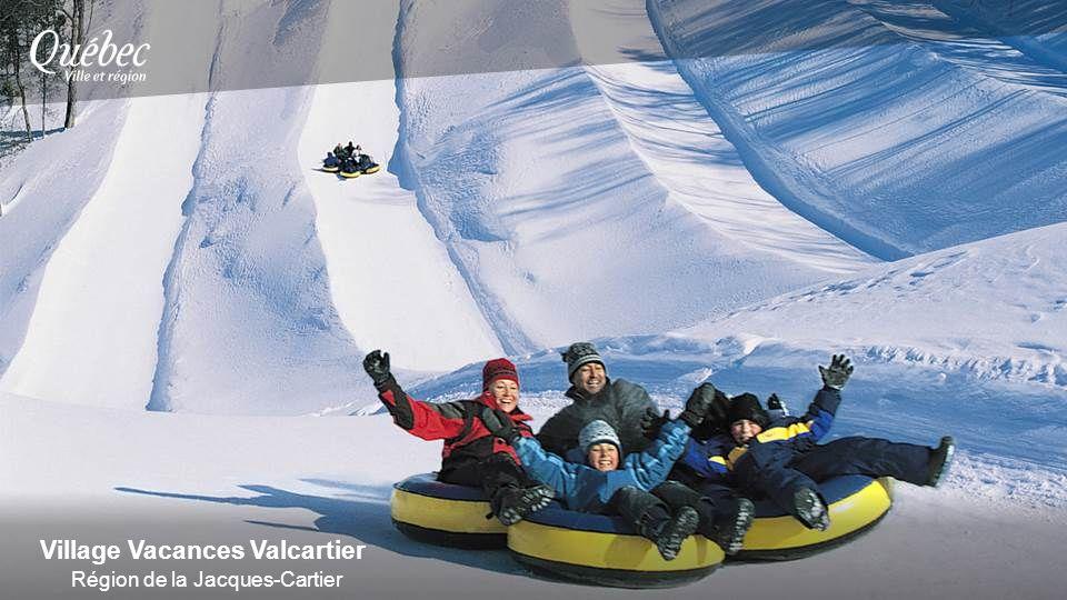 Village Vacances Valcartier Région de la Jacques-Cartier