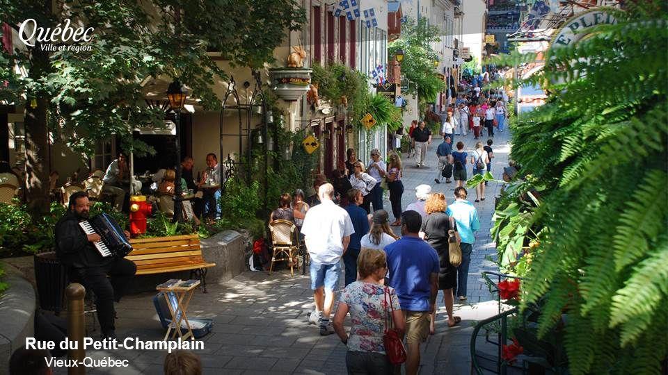 Rue du Petit-Champlain Vieux-Québec