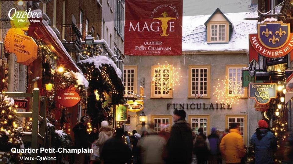 Quartier Petit-Champlain Vieux-Québec