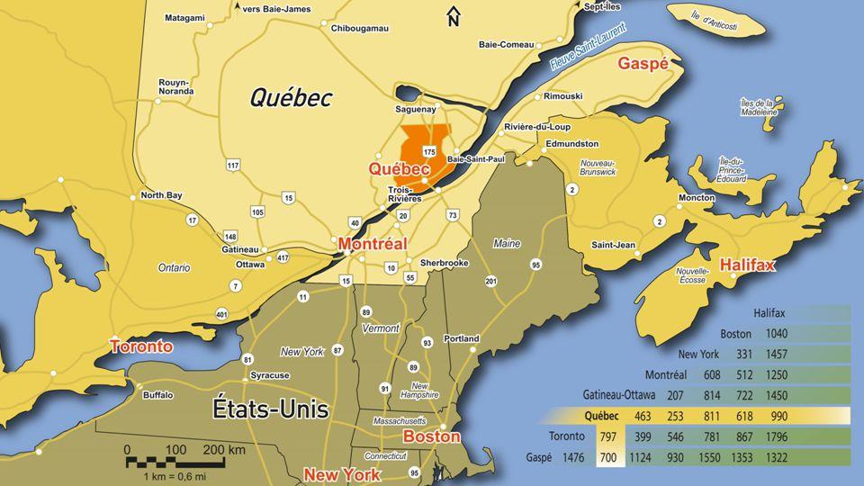 Une visite de la région de Québec est incomplète sans visiter larrière-pays 4 territoires ceinturent la région de Québec Survol ceinture verte