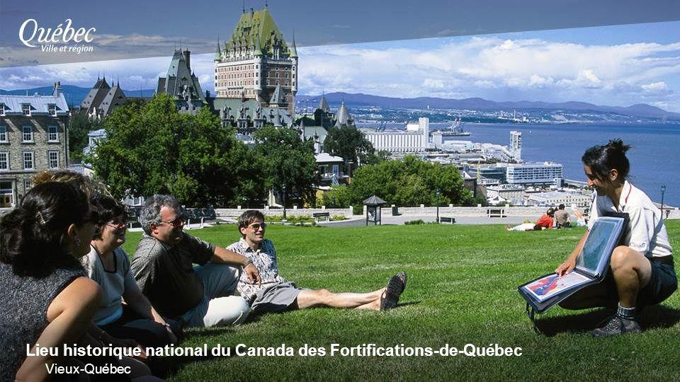 Lieu historique national du Canada des Fortifications-de-Québec Vieux-Québec