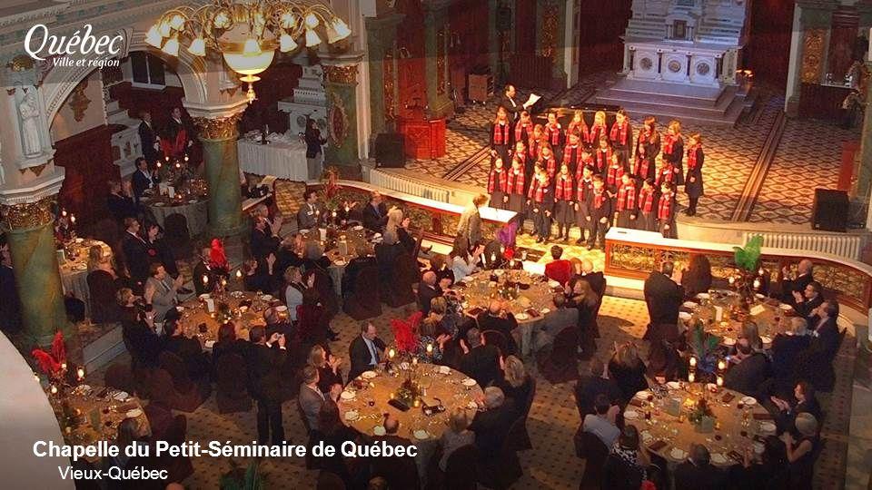 Chapelle du Petit-Séminaire de Québec Vieux-Québec