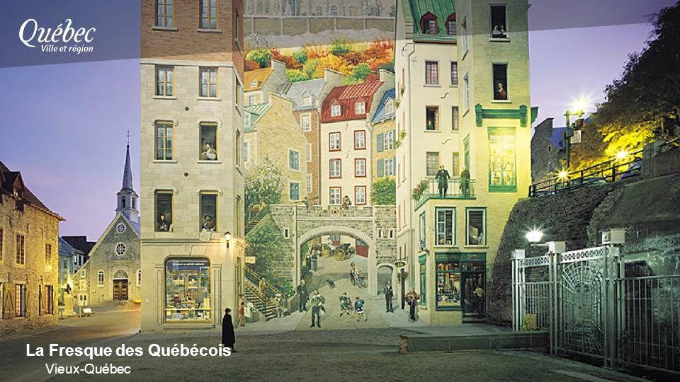La Fresque des Québécois Vieux-Québec