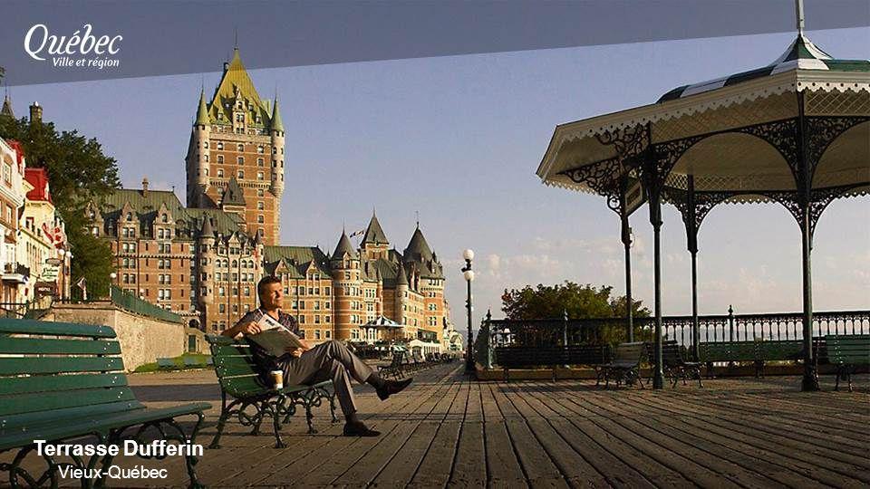 Terrasse Dufferin Vieux-Québec