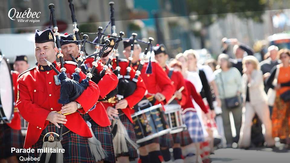 Parade militaire Québec