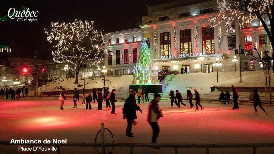 Ambiance de Noël Place DYouville