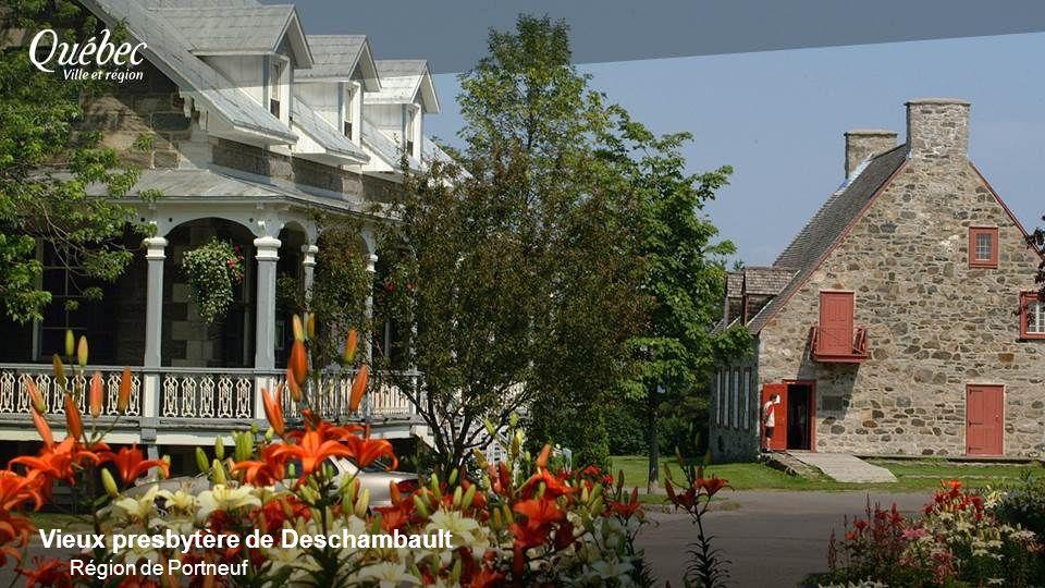 Vieux presbytère de Deschambault Région de Portneuf