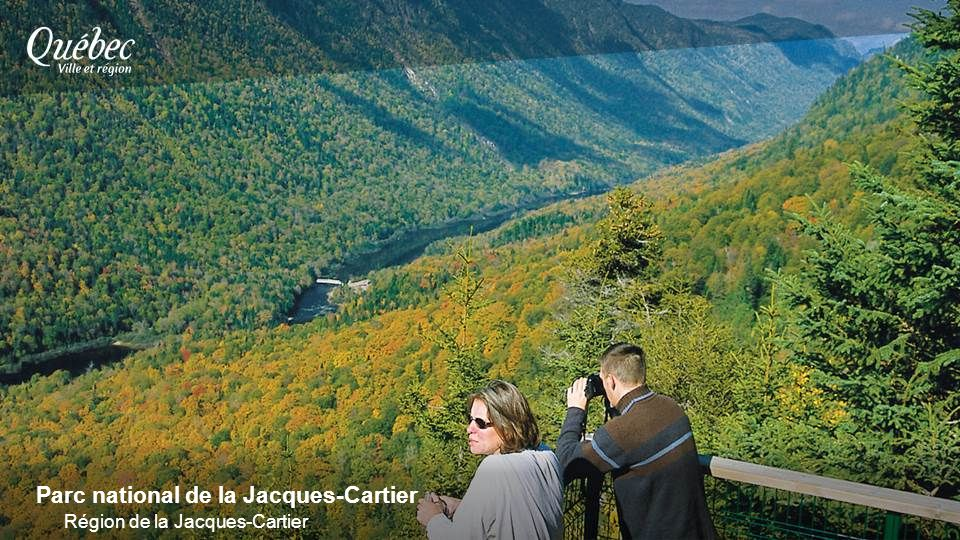 Parc national de la Jacques-Cartier Région de la Jacques-Cartier