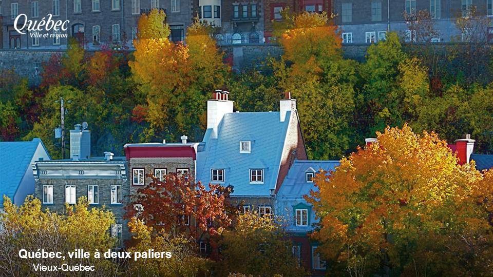 Québec, ville à deux paliers Vieux-Québec