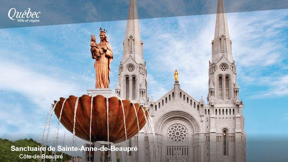 Sanctuaire de Sainte-Anne-de-Beaupré Côte-de-Beaupré