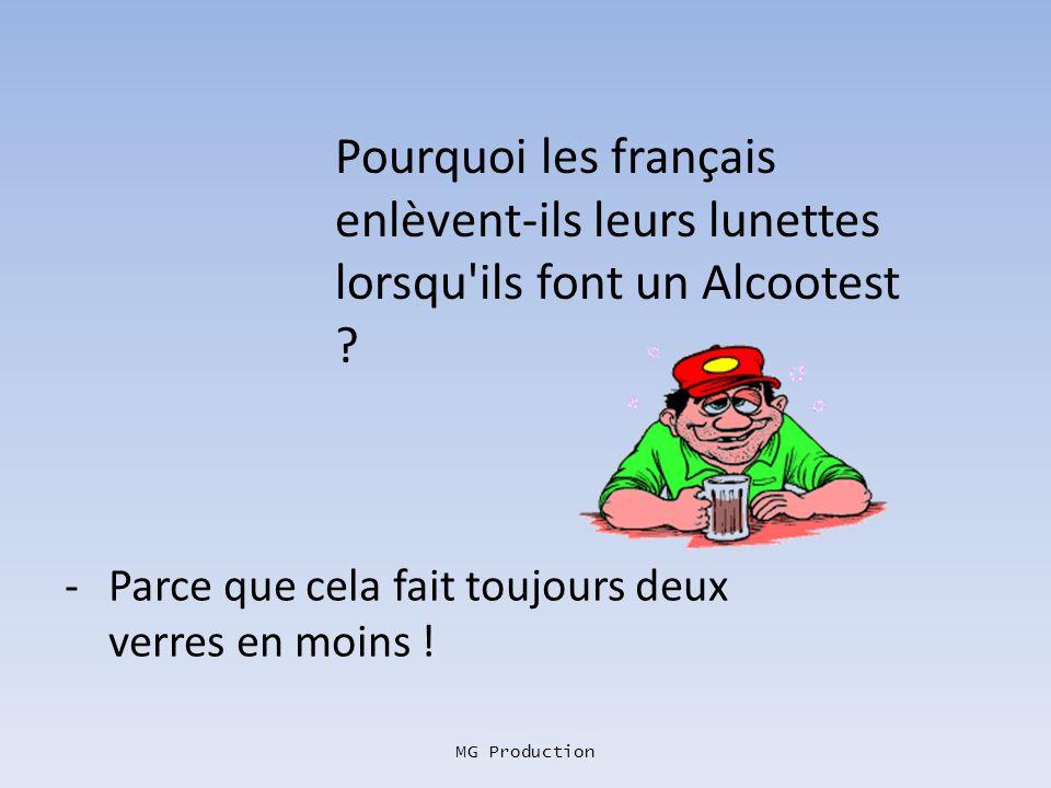 MG Production Un Français rencontre un Belge et lui demande : -Tu connais la différence entre un Belge et un miroir ? -Eh ! Non !! -Et bien le miroir,