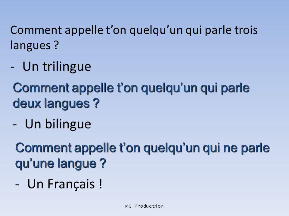 MG Production Pourquoi les Français avaient-ils VRAIMENT des raisons dêtre fiers dêtre les champions du monde ? -Parce que cétait la première fois qui