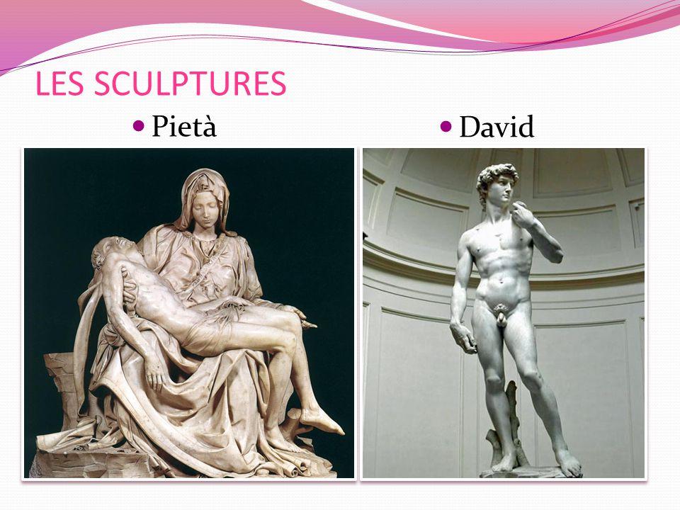 David LES SCULPTURES Pietà