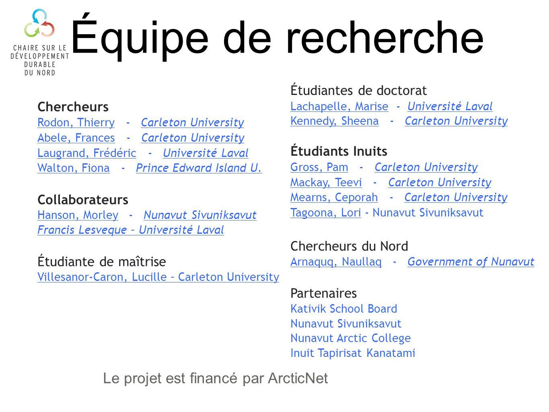 Contexte Canada est le seul pays de lArctique qui na pas duniversité au Nord du 60 e Le Nunavik na aucune institution postsecondaire Le pourcentage dInuit ayant obtenu un diplôme universitaire reste très faible (de 1,6% en 1981 à 2,7% en 2006) Lécart entre les Inuits et le reste de la population est passé de 8,2% en 1981 à 19,9% en 2006