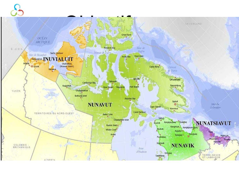 Objectifs Évaluer les besoins des étudiants inuits Faire un inventaire et une évaluation des programmes universitaires offerts dans lInuit Nunangat Développer différents scénarios pour améliorer laccès à léducation universitaire pour les Inuit et les habitants du Nord