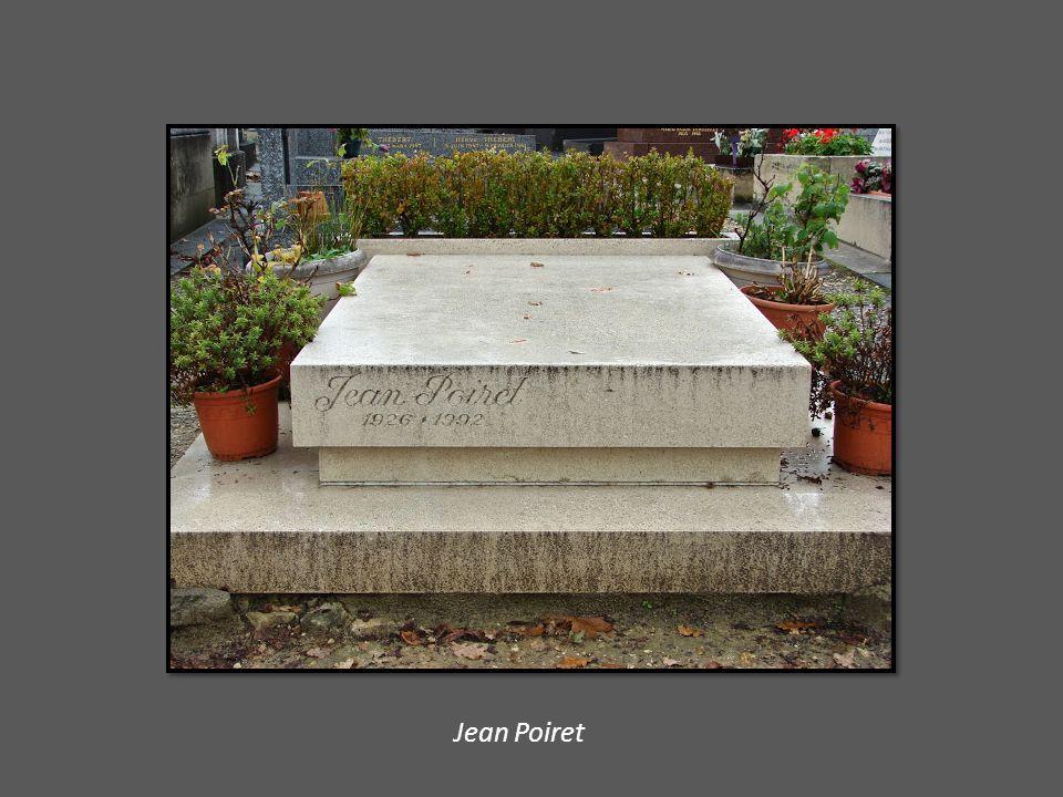 Tombe de Raymond Barre et détail du monument de Fréderic Bartholdi.