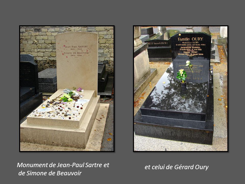 Oiseau pour Jean Jacques (Niki de Saint Phalle) Sur une tombe vide