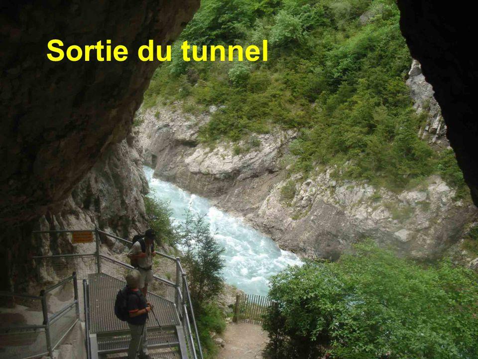 Sortie du tunnel