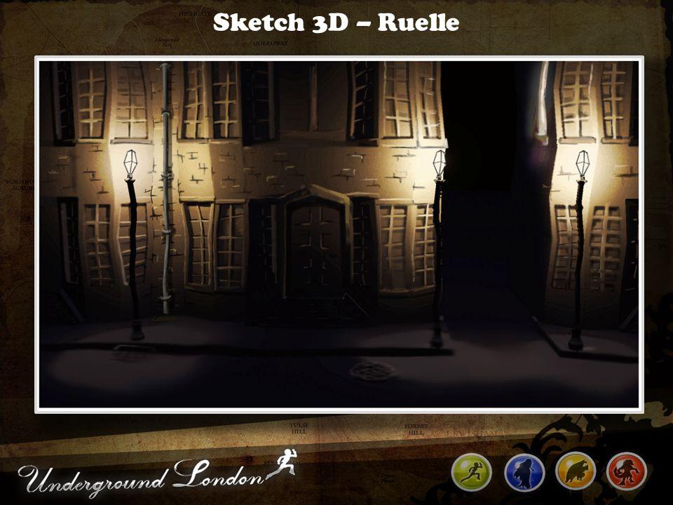 Sketch 3D – Ruelle