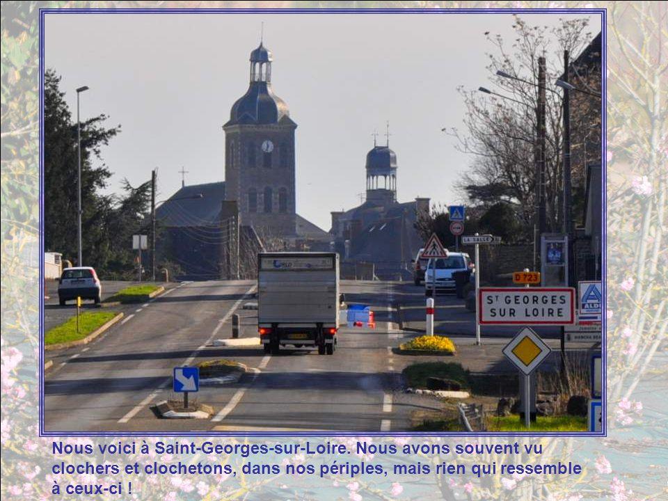 Un nouvel itinéraire nous attend : de Saint-Georges-sur-Loire à Montreuil-Bellay. Soit environ, au vu des routes prises, 80 km soit environ sept heure
