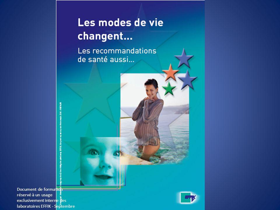 Document de formation réservé à un usage exclusivement interne des laboratoires EFFIK - Septembre 2008