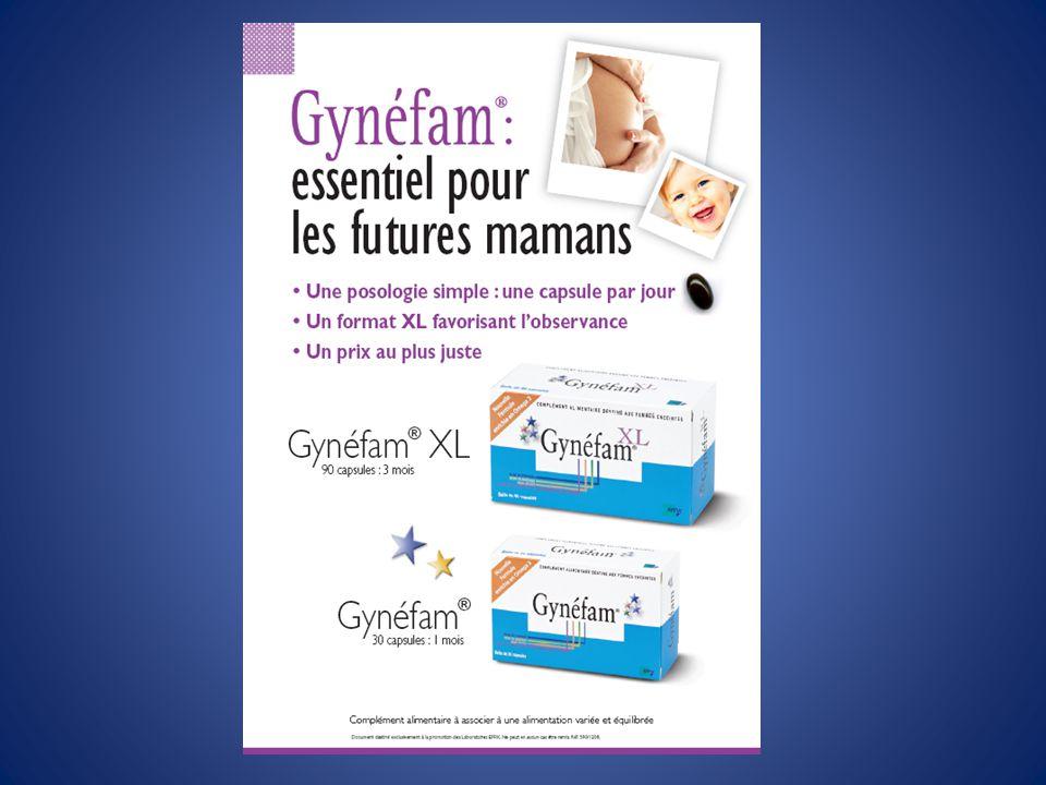 VITAMINE A : prudence VITAMINE A - risque tératogène (le foie est déconseillé chez la femme enceinte) - risque de troubles hépatiques sévères GYNEF-2-FI-19/01/2009