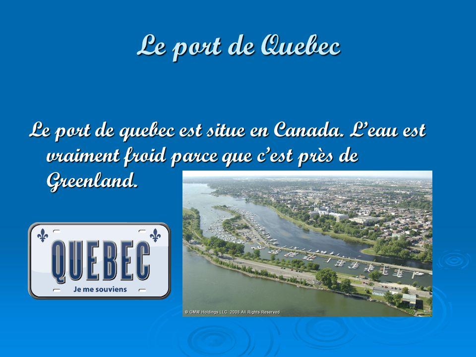 Les ports de lAmerique du Nord et Canada Par: Katrine Mcdonald
