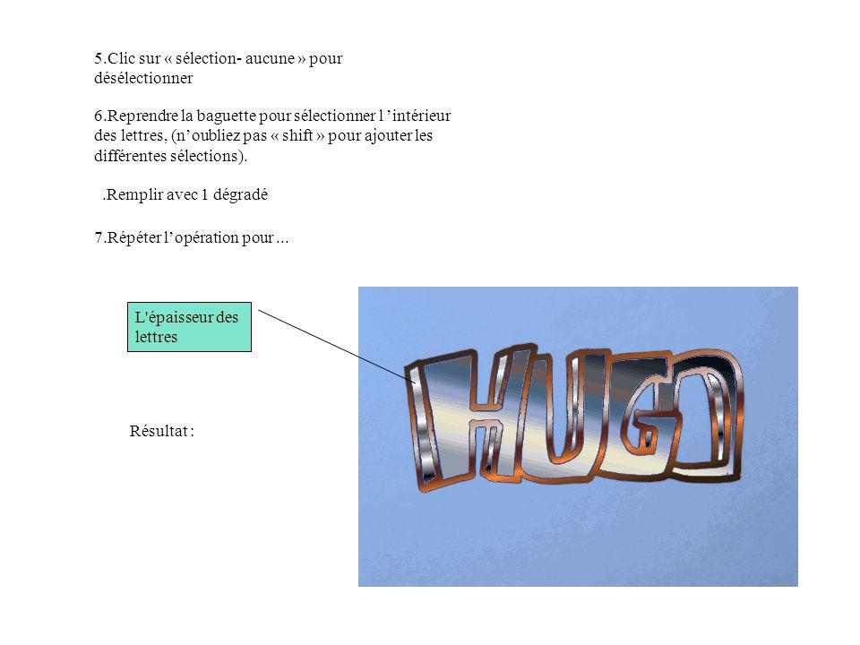 2.Sélection du prénom et « copier-coller » sur le mur : 1.Fichier, ouvrir votre prénom.