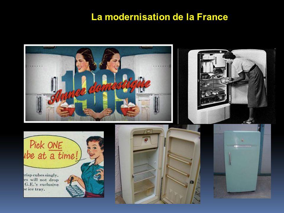 Réfrigérateurs des années 50 La modernisation de la France