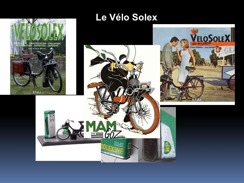 La mobylette La mobylette, cest comme le frigidaire : au départ, cest une marque déposée qui devient, grâce à son succès, le nom commun dun cyclomoteu