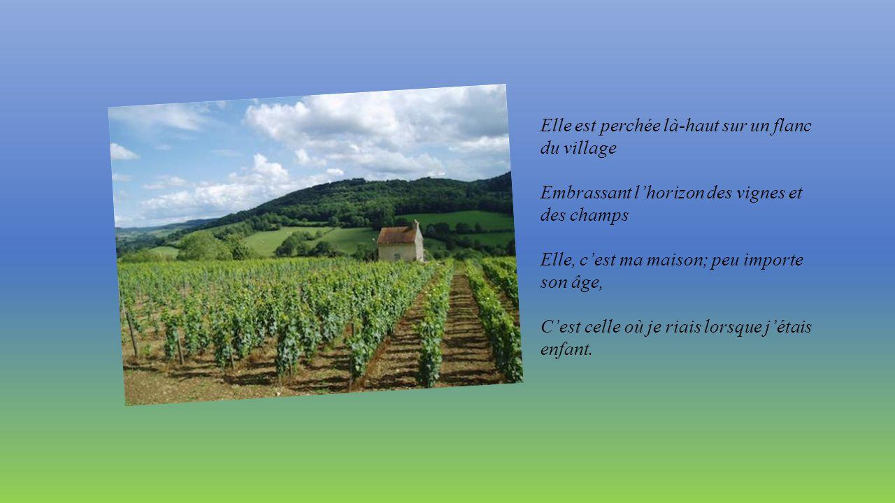 MA MAISON Texte extrait de « Le Refrain des saisons » de Simone Robert