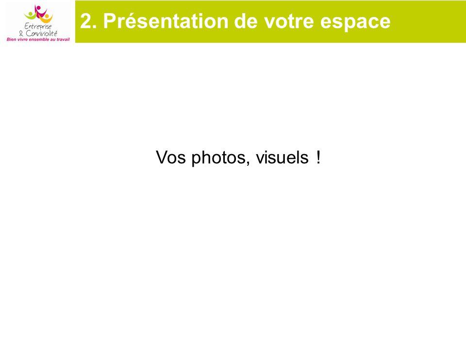 Vos photos, visuels !