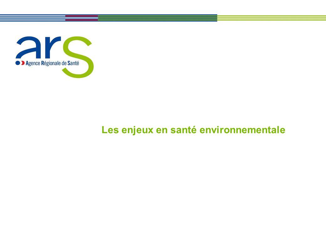 Les enjeux en santé environnementale