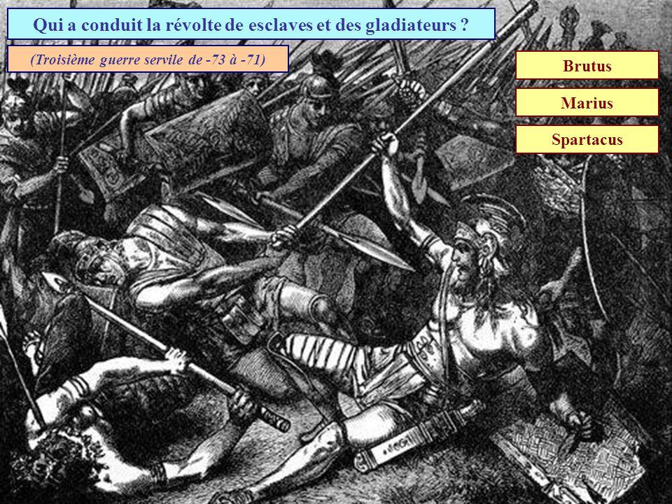Quelle voie romaine reliait lItalie à la péninsule ibérique ? Voie Aurélienne Voie Appienne Voie Domitienne (Construite à partir de 118 avant J-C.)