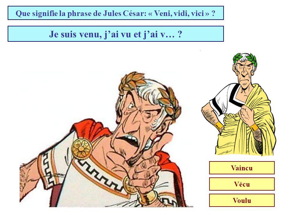 Où Vercingétorix a-t-il jeté les armes devant Jules César (52 av JC) ? Alésia Bibracte Gergovie