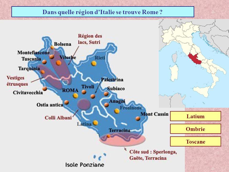 Dans quel pays se trouve Rome ? GrèceItalieEspagne