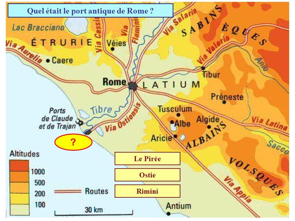 Daprès la légende, qui a fondé la ville de Rome ? AugusteRomeoRomulus