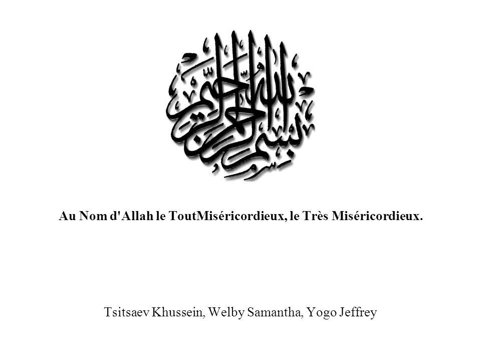 Muhammad Muhammad naît le 19 août en l an 570 après Jésus-Christ, lannée de léléphant dans la tribu noble des Banou- Hachim (les fils de Hachim, descendants de Quraych)