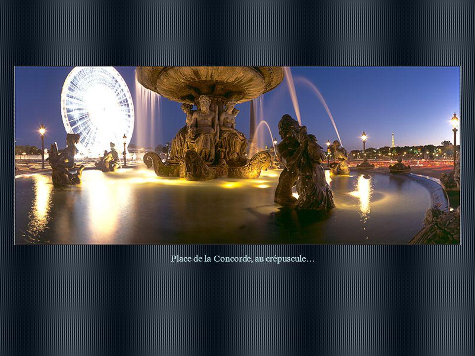 Place de la Concorde au petit matin