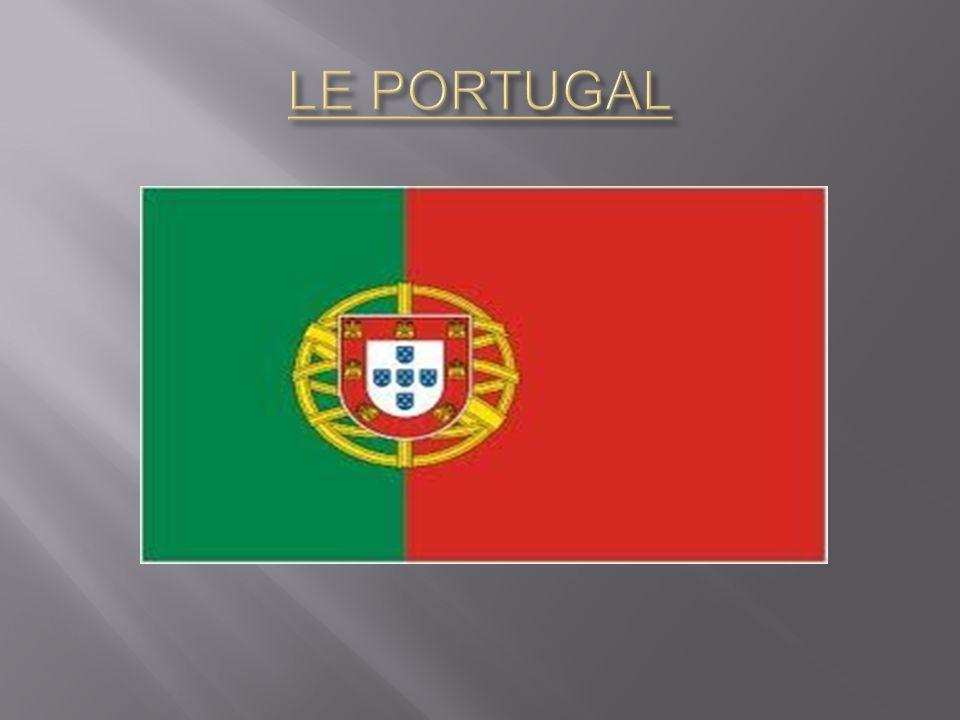 Le drapeau du Portugal se compose d un rectangle, divisé verticalement en vert et rouge.